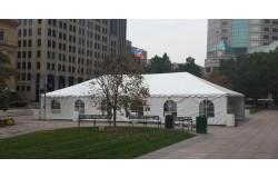 30 X 60 White Frame Tent Metro Cuisine Columbus Oh