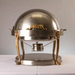 Chafing Dish Round Roll-Top