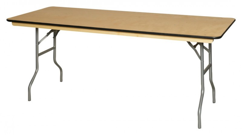 Superbe Rectangle Table U2013 6 Ft X 30 Inches